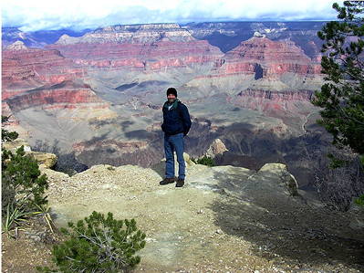 Bob at the Grand Canyon