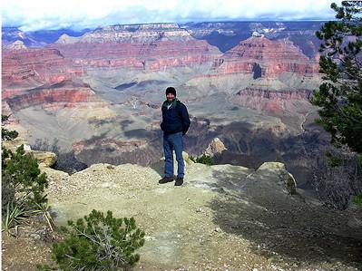 Bob at the Grand Canyon