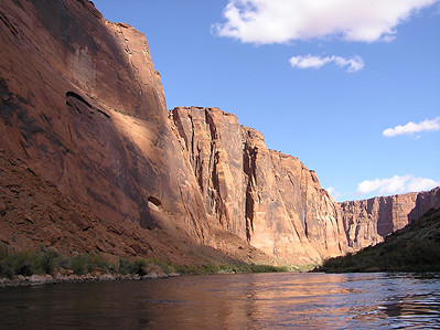 Glen Canyon raft trip