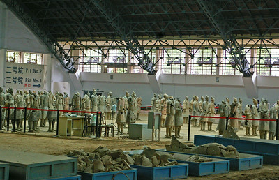 The Terra Cotta Warriors of Xian, China